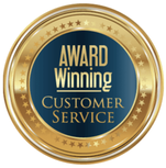 Icon of award winning customer service